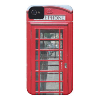 iPhone 4: Klassisches rotes Telefonzelle-Foto Case-Mate iPhone 4 Hülle