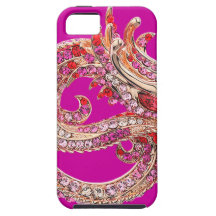 iPhone 5 hübsches Rosa Bejeweled iPhone 5 Hüllen