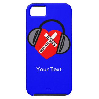 iPhone 5 - Jesus Saves Music - Your Text iPhone 5 Etui