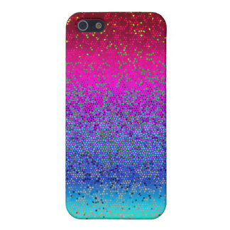 iPhone 5C Fall-Savvy Glitter-Stern-Staub iPhone 5 Cover