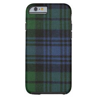 iPhone 6 Fall schwarze Uhralter Tartan-Kasten Tough iPhone 6 Hülle