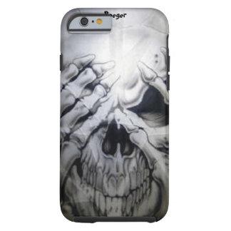 iPhone 6 Fall stark - Peekaboo-Schädel Tough iPhone 6 Hülle