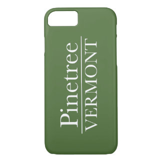 iPhone 6 kaum dort - Pinetree Vermont - Grün iPhone 8/7 Hülle