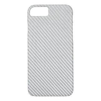 iPhone 7 Fall - Kohlenstoff-Faser - metallisches iPhone 8/7 Hülle