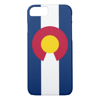 iPhone 7 Fall mit Flagge von Colorado iPhone 7 Hülle