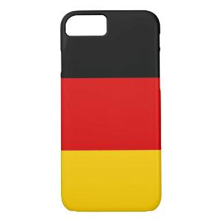 iPhone 7 Fall mit Flagge von Deutschland iPhone 7 Hülle