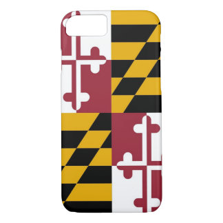 iPhone 7 Fall mit Flagge von Maryland iPhone 7 Hülle