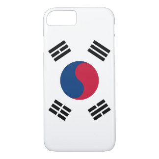 iPhone 7 Fall mit Flagge von Südkorea iPhone 7 Hülle