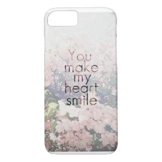 iPhone 7 Fall - Sie lassen mein Herz lächeln iPhone 8/7 Hülle