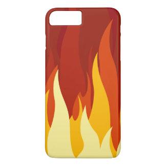 iPhone Abdeckungs-Feuer iPhone 7 Plus Hülle