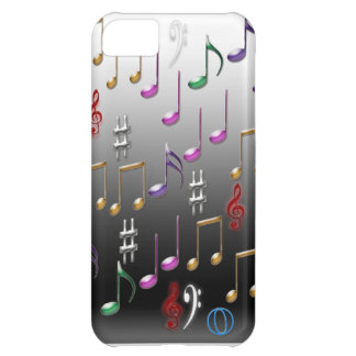 Iphone Entwurf der musikalischen Anmerkungen iPhone 5C Hülle