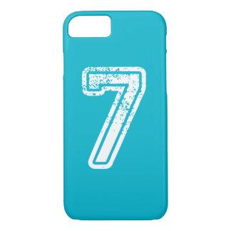 iPhone Jersey Nr. sieben mit Farbfall iPhone 8/7 Hülle