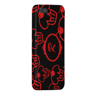 iPhone Se, 5 umkleiden, rote kleine Kuchen auf iPhone 5 Case