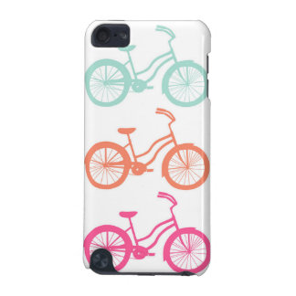 IPod Touch 5G Case - Multicolor Bicycle Pattern