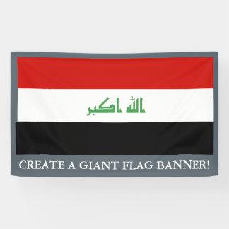 Irakische Flagge Banner
