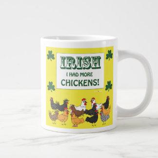 Iren I hatten mehr Hühner! Extragroße Tassen