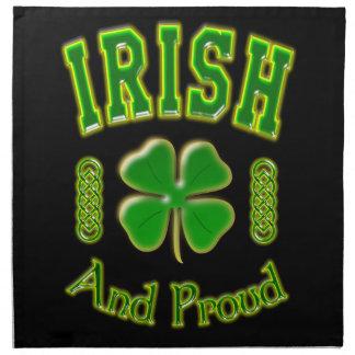 Irisch und stolz serviette