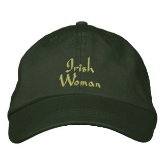 Irische Frau gestickte Kappe/Hut Baseballmütze