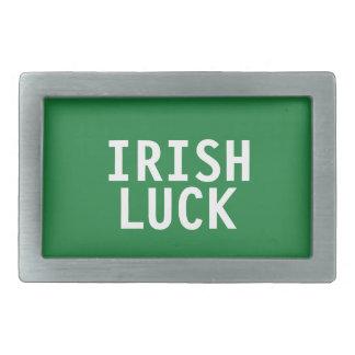 Irische Glück-Gürtelschnalle Rechteckige Gürtelschnallen