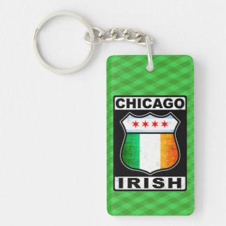 Irischer amerikanischer Schlüsselring Chicagos