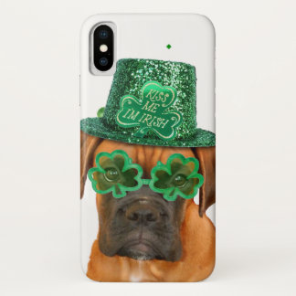 Irischer BoxerhundiPhone X Fall iPhone X Hülle