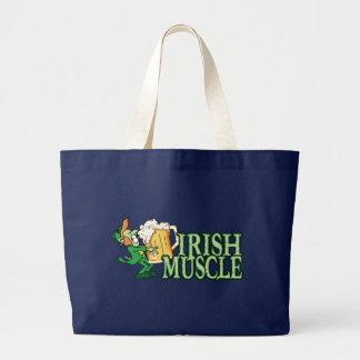 Irischer Muskel 2 Jumbo Stoffbeutel