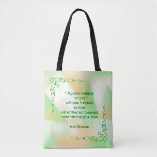 Irischer Segen (#4) St Patrick Tagesorange, grün