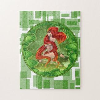 Irisches Mädchen Puzzle