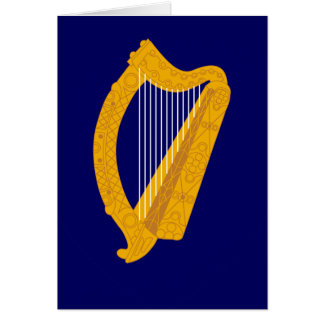 Irland-Emblem Karte