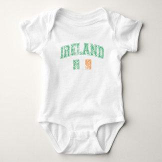 Irland-Flagge Baby Strampler