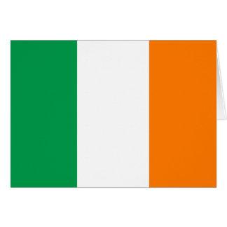 Irland-Flagge Karte