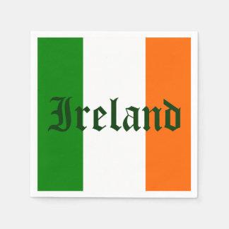 Irland-Flagge Papierservietten