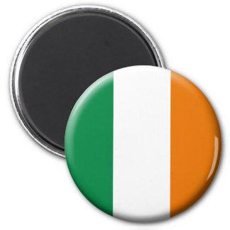 Irland-Flaggen-Magnet Runder Magnet 5,1 Cm