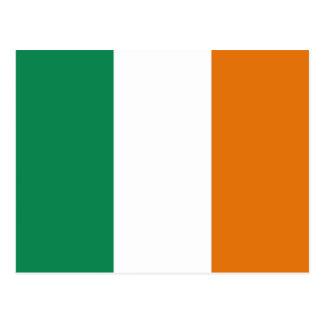 Irland-Flaggen-Postkarte Postkarte