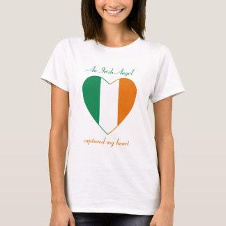 Irland-Flaggen-Schatz-T - Shirt