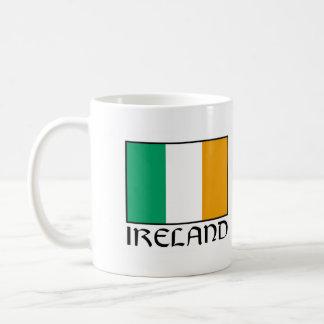 "Irland-Flaggen-Tassen-""Leuchtturm-Weg Tasse"