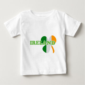 Irland-Klee-Flaggen-St Patrick Tag Baby T-shirt