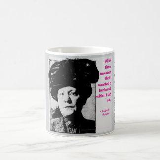 Isabella Goodwin, der erste Frauendetektiv Tasse