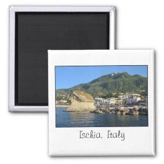 Ischia, Italien-Magnet Quadratischer Magnet