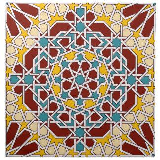 Islamische geometrische Muster Serviette