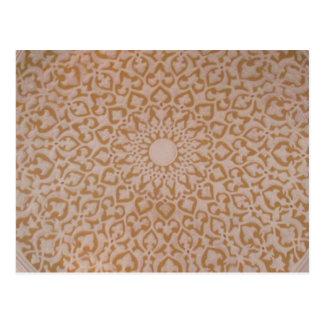 Islamische Kunst und geometrischer Entwurf Postkarten