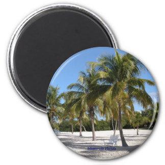 Islamorada Florida Runder Magnet 5,7 Cm