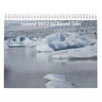 Island 2017 durch Rauno Joks Kalender