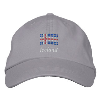 Isländische Kappe - isländischer Flaggen-Hut Baseballkappe
