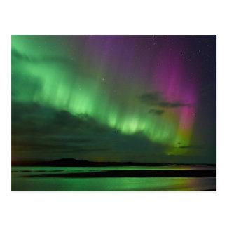 Islands Nordlichter Postkarte