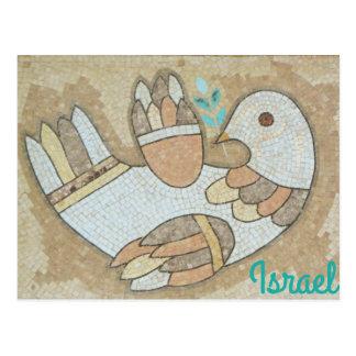 Israel-Friedensvogel-Postkarte Postkarte