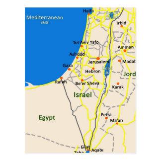 Israel map.JPG Postkarte