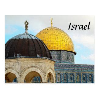 Israel-Postkarte mit Foto der Haube des Felsens Postkarte
