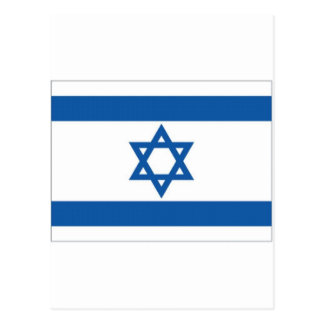 Israel-Staatsflagge Postkarte