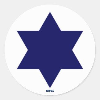 Israelischer Luftwaffe Roundel Aufkleber